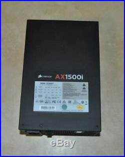 Corsair AX1500i Digital 1500W 80+ Titanium Certified Fully Modular Power Supply