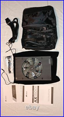 Corsair AX1500i Digital 1500W Power Supply PSU 80 + Titanium Fully Modular