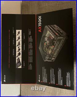 Corsair AX1500i Digital Power Supply (New)