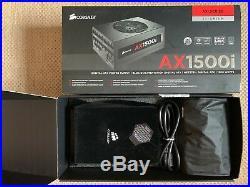 Corsair AX1500i Modular Titanium Netzteil 1500 Watt PSU 10 Jahre Garantie
