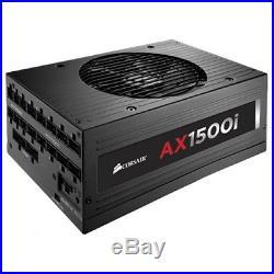 Corsair AX1500i Pro 1500 Watt 80 PLUS Titanium Modular ATX PSU (CP-9020057-UK)