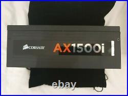 Corsair AX1500i Titanium 1500W Power Supply ATX + Premium White Sleeved Cables