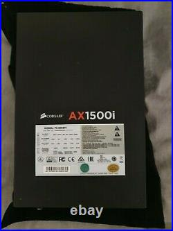 Corsair AX1500i Titanium 1500W Power Supply Mining PSU 6.2