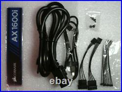 Corsair AX1600i 1600W 80Plus Titanium ATX Modular Power Supply Nice Used