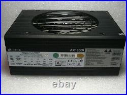 Corsair AX1600i 1600W 80Plus Titanium ATX Modular Power Supply Nice Used Refurb