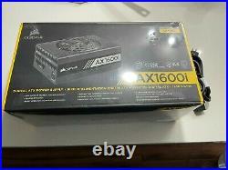 Corsair AX1600i 1600W Digital ATX Power Supply CP-9020087-WW New in box