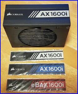 Corsair AX1600i 1600W Titanium ATX Fully Modular Power Supply Black