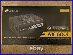 Corsair AX1600i 80+ Titanium 1600W Digital ATX Power Supply Free Shipping