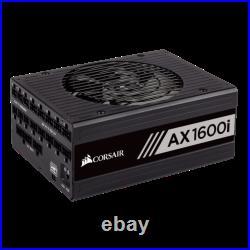 Corsair AX1600i Digital 80 Plus Titanium Full Modular ATX Power Supply Unit JUNE