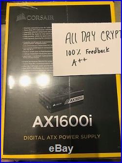 Corsair AX1600i Digital Power Supply1600 watt
