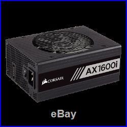 Corsair AX1600i NiB, 1600watt 240/120 power supply Fully Modular