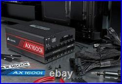 Corsair AX1600i alimentatore per computer 1600 W ATX Nero