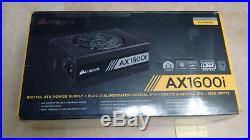 Corsair AX1600i digital ATX power supply CP-9020087-NA Mining Titanium 80+ 1600w