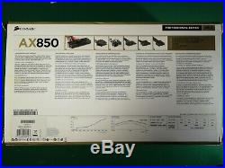 Corsair AX850 Power Supply Unit Professional Series Gold Plus Modular PSU