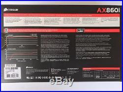 Corsair AX860i PSU Digital 860W 80 PLUS Platinum Full Modular Power Supply