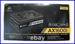 Corsair AXi, AX1600i, 1600 Watt, 80+ Titanium NEW IN BOX Power Supply Unit PSU