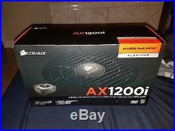 Corsair AXi Series, AX1200i, 1200 Watt (1200W), Fully Modular ATX NEW