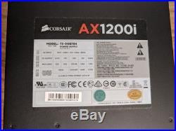 Corsair AXi Series AX1200i Digital 1200W Power Supply withOriginal Box & Extras