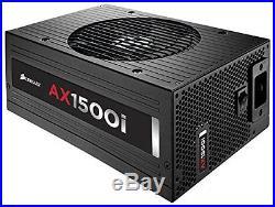 Corsair AXi Series, AX1500i, 1500 Watt 1500W, Fully Modular Digital Power 80+