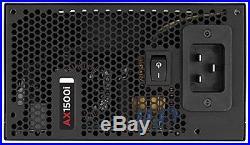 Corsair AXi Series, AX1500i, 1500 Watt (1500W), Fully Modular Digital Power S