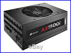 Corsair AXi Series, AX1500i, 1500 Watt (1500W), Fully Modular Digital Power Sup