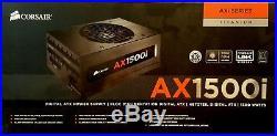 Corsair AXi Series, AX1500i, 1500 Watt PSU, ATX Modular Titanium Power Supply