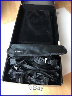 Corsair AXi series AX1500i 1500 watt 80+titanium power supply PSU with Cables