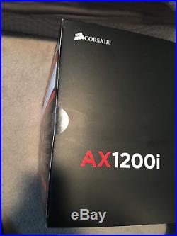 Corsair Ax1200i Power Supply Brand New Sealed