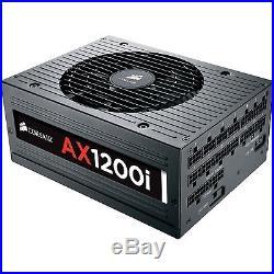 Corsair CP-9020008-NA 1200w Ax1200i Atx Power Supply Pwr 80 Plus Platinum
