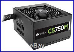 Corsair CP-9020078-NA CSM CS750M 750W 80 Plus Gold Modular PSU Power Supply