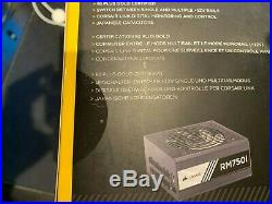 Corsair CP-9020082-UK 750w RMi Series Rm750i PSU Brand New In Sealed Box