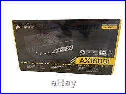 Corsair CP-9020087-NA 1600W Titanium ATX Fully Modular Power Supply Black