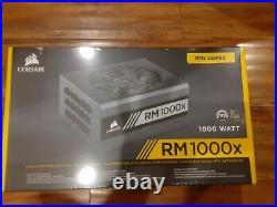 Corsair CP-9020094-NA RM1000x 1000W Fully Modular Power Supply NEW