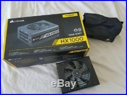 Corsair CP-9020139-NA HX1000 1000W 80+ Platinum Power Supply PSU