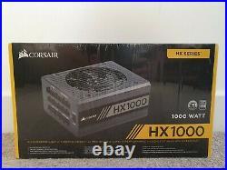 Corsair CP-9020139-UK HX1000 1000W PSU 80+ Platinum Modular New & Sealed