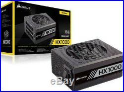 Corsair CP-9020139-UK HX1000 W80+ Platinum Fully Modular Power Supply Unit Black