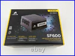Corsair CP-9020182-NA SF600 80 Plus Platinum 600W Fully Modular Power Supply