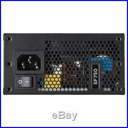 Corsair CP-9020186-UK SF750 80 Plus Platinum Certified Power Supply Unit, SF
