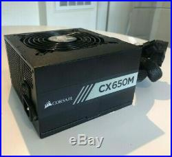 Corsair CX650M Bronze Certified Modular ATX PSU 650 Watt