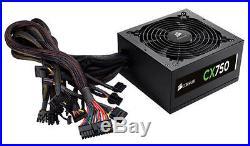Corsair CX750 750 Watt 80 PLUS Bronze Certified ATX Power Supply PSU