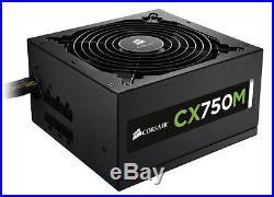 Corsair CX750M 750W ATX12V v2.3 Semi-Modular 80 PLUS Power Supply PSU