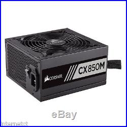 Corsair Cx850m 850w 80+ Quiet Atx Modular Power Supply Unit 70.8a, 6+2 Pci-e