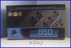 Corsair HX 850W PSU Professional Series Modular Silver Certified
