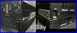 Corsair HX Series HX1000 80 PLUS PLATINUM 1000W PSU Fully Modular