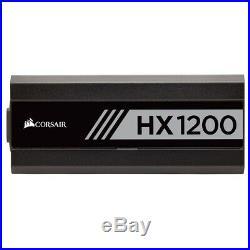 Corsair HX Series HX1200 1200 Watt 80+ Platinum Fully Modular Power Supply PSU
