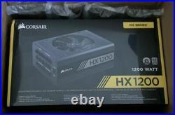 Corsair HX Series, HX1200, 1200 Watt, Fully Modular Power Supply, 80+ Platinu