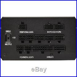 Corsair HX Series HX750 750 Watt 80 PLUS Platinum Certified Fully Modular PSU