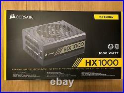 Corsair HX1000 1000 W 80+ Platinum Fully Modular Power Supply Unit Boxed