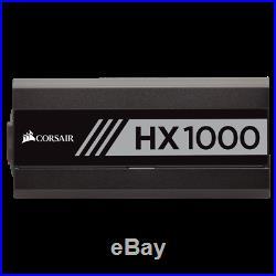 Corsair HX1000 1000 Watt, 80+ Platinum, Certified Fully Modular Power Supply PSU