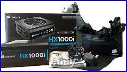 Corsair HX1000i 1000 W 80 Plus Platinum Certified 140 mm Fan PSU CP-9020074-UK